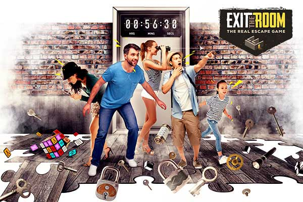 Exit the Room | 20% off on tickets | ISIC