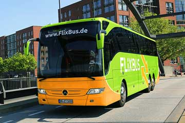 FlixBus: - 50 % auf Tickets ab Hamburg