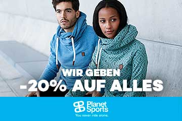 Planet Sports: 20% discount online