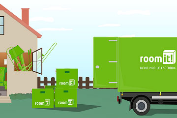 room it!: 11,11 % Rabatt auf Self Storage