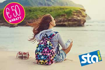 STA Travel: 50 € ISIC Rabatt sichern!